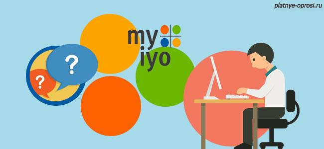 Заработок в проекте Myiyo