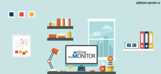Online Monitor – сервис платного анкетирования